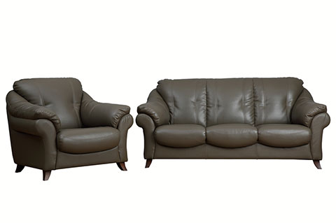 Sofa set synthetic leather material