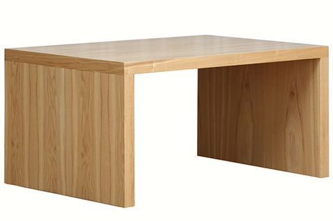 simple rectangular coffee table