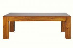 Solid teak wood coffee table