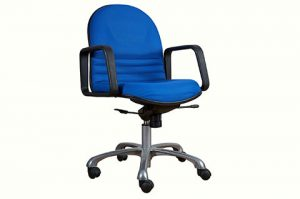 Mid back fabric office movable chair