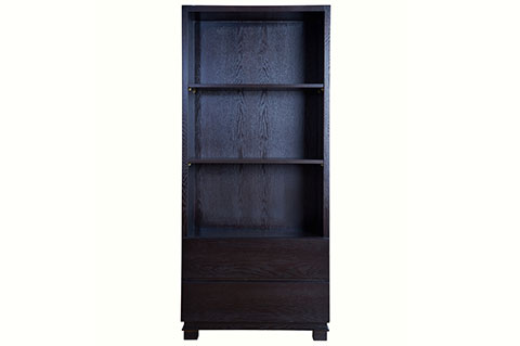 Book shelf walnut color ply wood