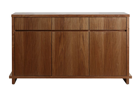 wooden material buffet side board