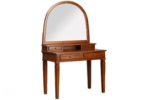 Dressing table solid teak wood with mirror