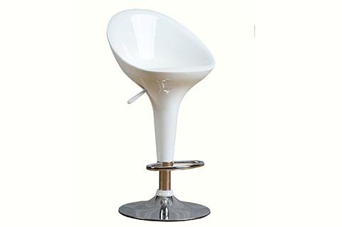 adjustable bar stool white color