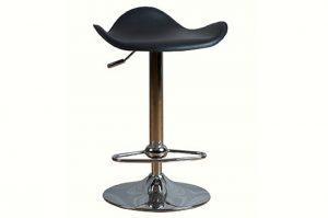 adjustable Bar stool black color cushion with no back rest