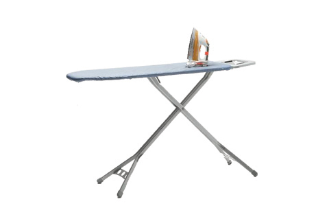 STEAM IRON WITH IRONING BOARD