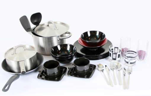 Home ware, pots, utensils