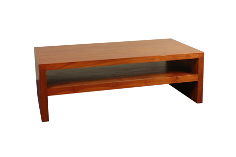 Solid teak wood coffee table
