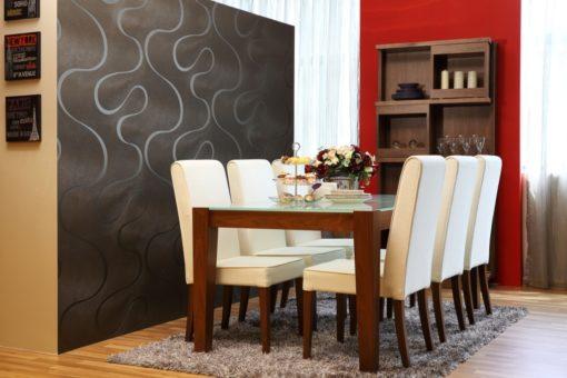 premium dining room set up