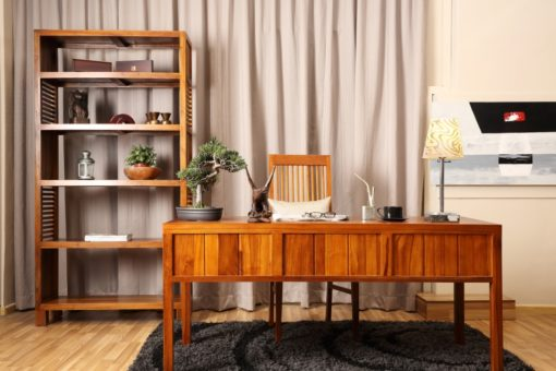 Solid teak Study room set